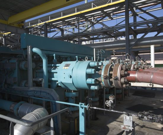 Hyper Compressor For Ethylene Production Burckhardt