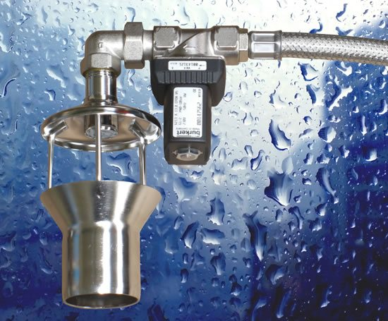Solenoid valve in rainwater harvesting application