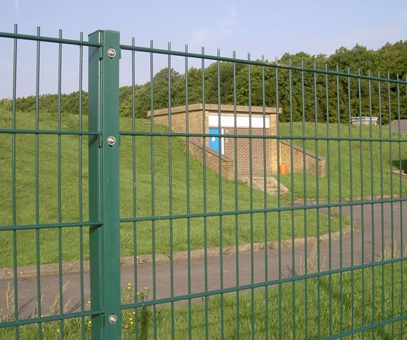 Dulok Double Wire Panel Perimeter Security Fencing Cld