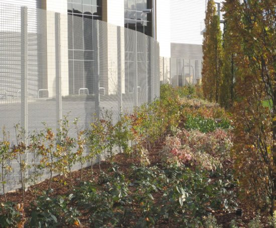 Securus™ high security flat panel fencing system | CLD Fencing