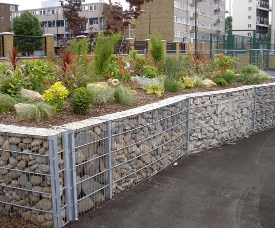 Stone Fence Decorative Walling System Cld Fencing
