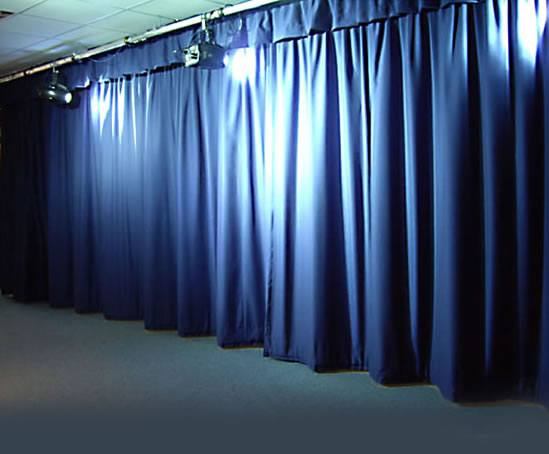 alu compact and studio stage curtain systems cps manufacturing co