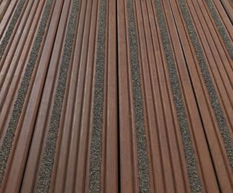 Hi grip excel non slip timber decking cts bridges esi for Non slip composite decking