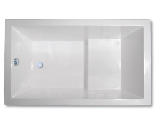 Calyx 1230 japanese style deep soaking bath tub design for Japanese deep soaking tub uk