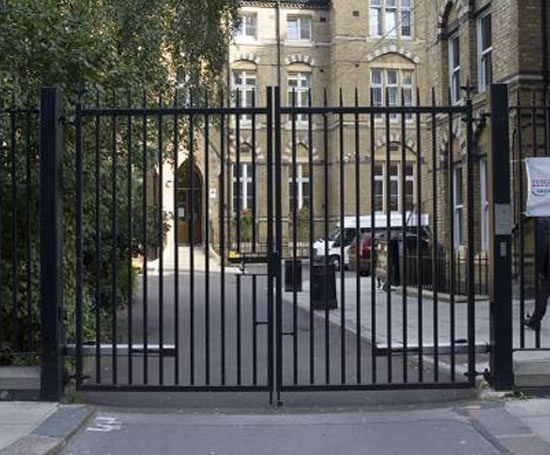 Bespoke architectural railings westminster school for Architectural railings