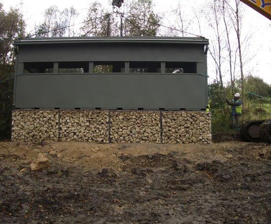 Vandal-resistant bird hide buildings | Cleveland Sitesafe ...