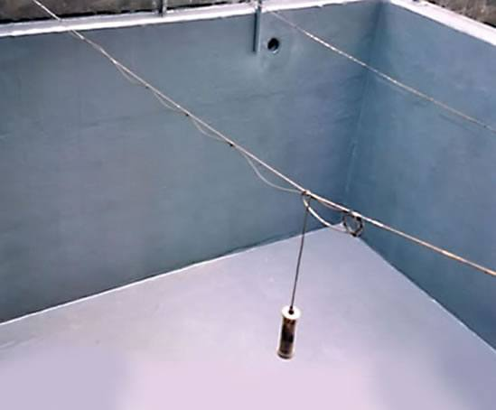 Effluent pit for high strength sulphide waste streams lined in CounterLine CS