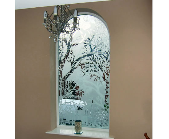 Decorative Glass Product : Bespoke decorative glass windows creative