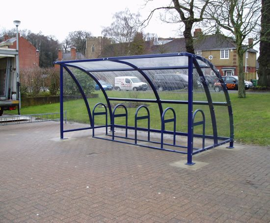 Full Bike Shelters : Solent bicycle shelter and compound cycle works esi