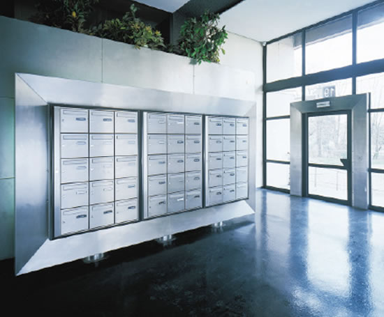 Ordinaire 2030 2 Front Delivery, Wall Mounted Mailboxes