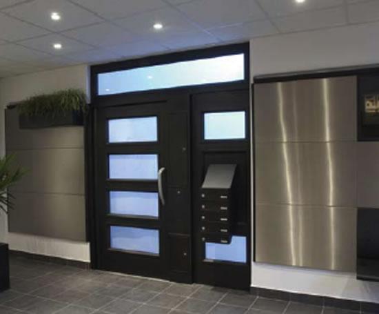 Bespoke Steel Entrance Door System Dad Uk Esi Building