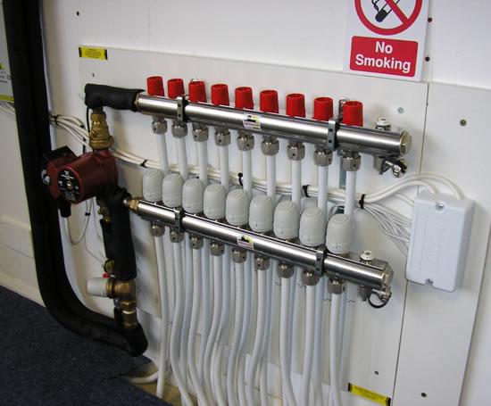 Underfloor Heating Manifolds Robbens Systems Esi