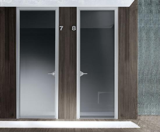 Aluminium Doors Product : Rimadesio ghost glass and aluminium door domain esi