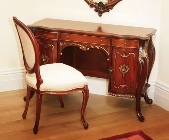 French Kneehole Desk