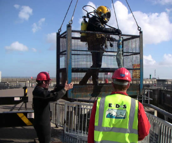 Engineering inspection services cardiff bay barrage for Joe s bain industrial organization