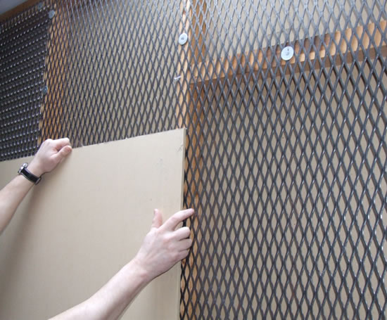Securilath Reinforced Metal Security Mesh Lath Expanded