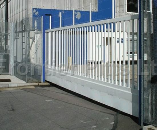 Lotracker cantilevered sliding security gates frontier