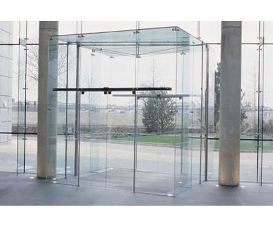 Slimdrive Sl Nt Automatic Sliding Door System Geze Uk Esi