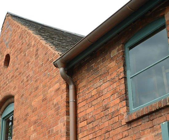 Eco Friendly Copper Guttering Metal Gutta Esi Building