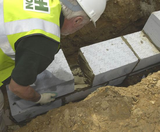 Celcon Foundation Blocks For Walls And Foundations H H