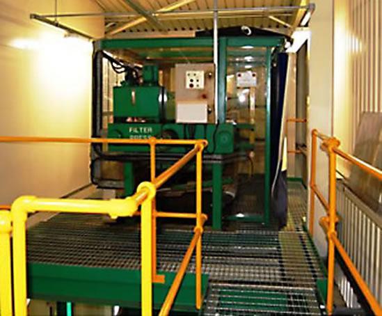 Effluent Treatment Facility Jaguar Cars Ltd Liverpool