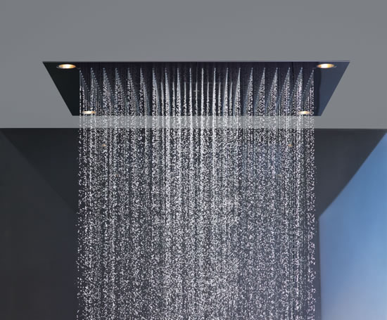 axor starck showerheaven shower hansgrohe esi interior design. Black Bedroom Furniture Sets. Home Design Ideas