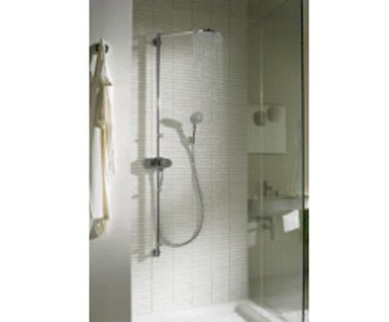 Pharo showerpipe swing hansgrohe esi interior design - Hansgrohe axor pharo shower ...