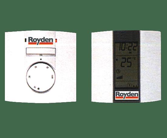 Royden thermostats