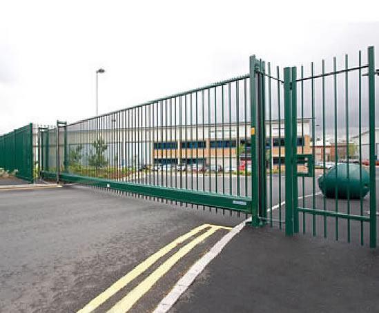 Delta cantilever sliding gates heras uk esi external works
