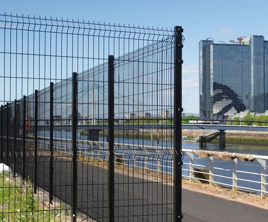 Triton Welded Mesh Fencing System Heras Uk Esi