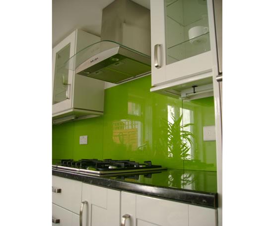 Bespoke textured glass back painted splashbacks hot for Back painted glass design