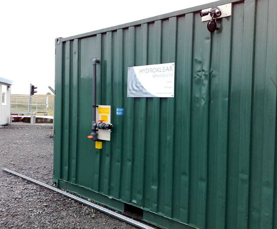 Surface water treatment, Central Scotland