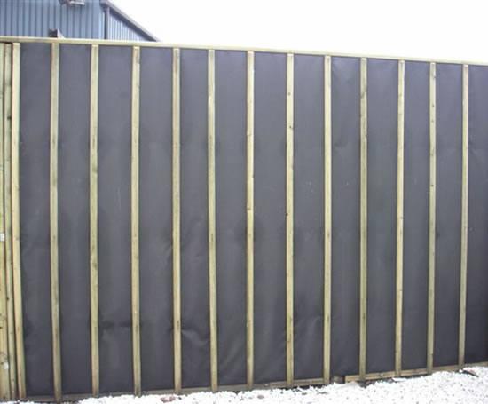 Jakoustic® PLUS acoustic fencing