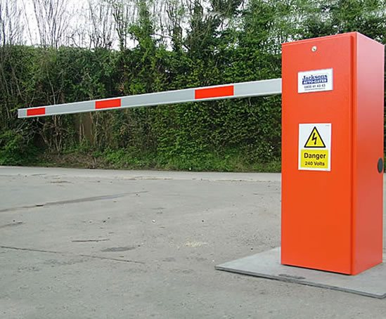 Automatic Rising Arm Barriers Jacksons Fencing Esi