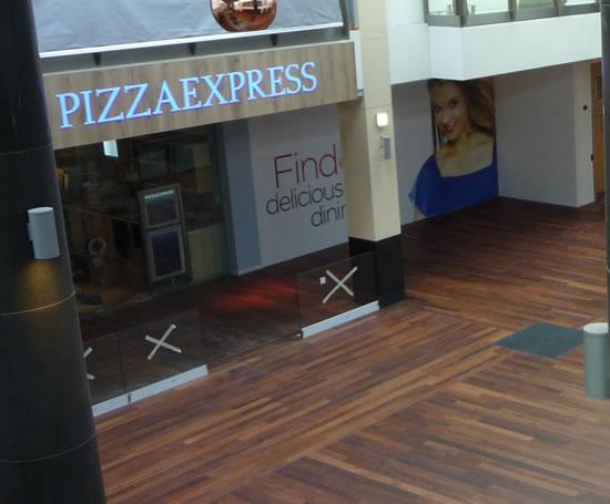 Jarrah Wide Board Flooring Davids Shopping Centre