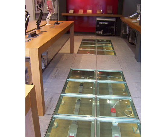Fdeb Bsen Rated Loose Lay Raised Access Floor Panel
