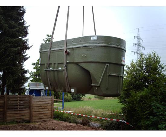 Biodisc 174 Sewage Treatment Plants Kingspan Environmental