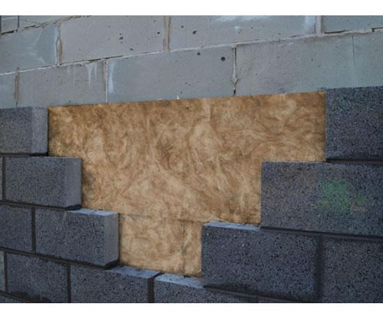 Mc01 masonry cavity wall insulation system knauf for Stone wall insulation