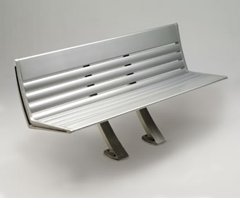 Austin bench - Landscape Forms Inc - on ESI.