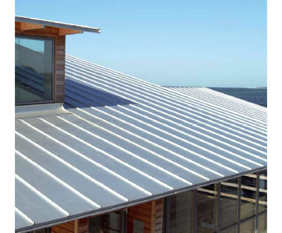 Seamline Standing Seam Roofing System Lindab Esi