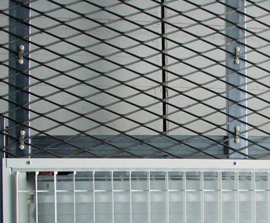 Expanded Metal Suspended Ceilings Lindner Esi Building