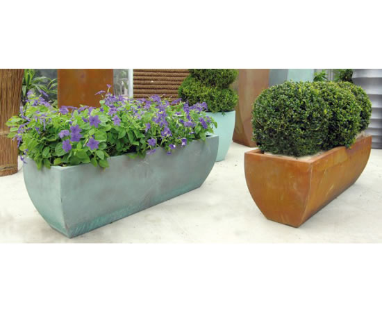 Linik Trough Planters Livingreen Design Esi Interior