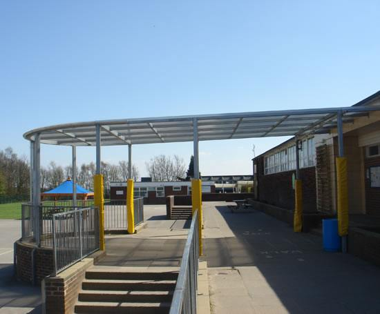 Entrance Canopies Product : Charnock entrance canopy lockit safe esi building design