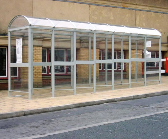 Prefabricated Bus Shelter : Clifton modular shelters macemain amstad esi