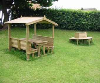 Martell Covered Picnic Table