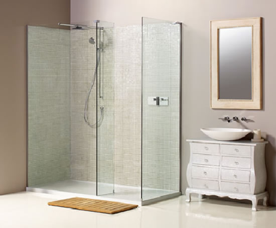 Boutique NWCC1790 walk-in corner shower | Matki Showering ...