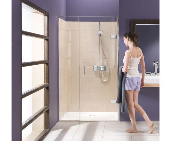 Eauzone Plus Hinged Door For Recess Epw Matki Showering