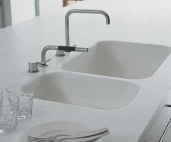 Acrylic Double Kitchen Sinks