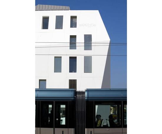 Corian Exterior Cladding Mcd Marketing Esi Building Design