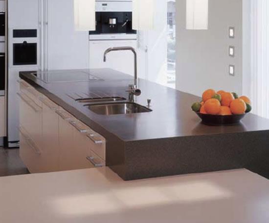 Corian Non Porous Solid Surface Kitchen Worktops